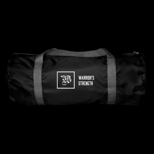 white logo transparent background png - Duffel Bag