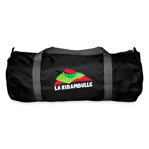 laRibambulle logoHD blanc png - Sac de sport