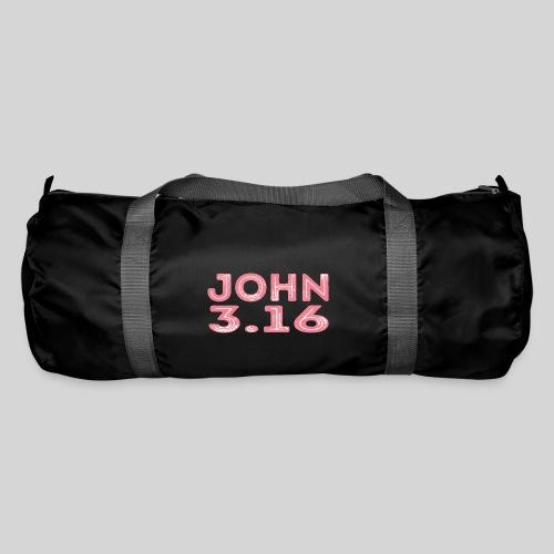 Johannes 3 Vers 16 Bibelversdesign - Sporttasche