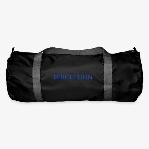 PERCEPTION CLOTHES BLEU - Sac de sport