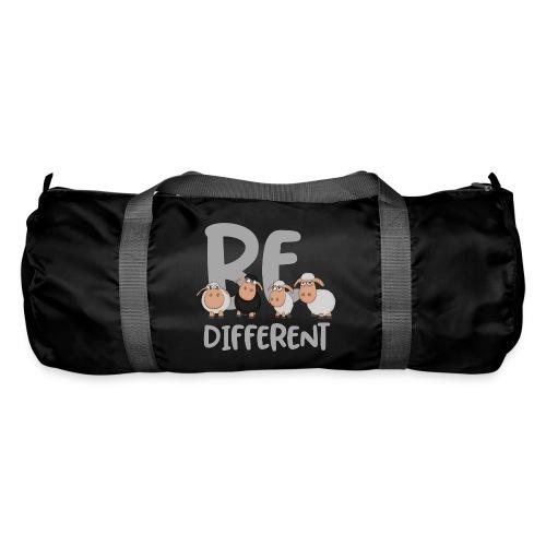 Be different Schafe: Einzigartiges schwarzes Schaf - Sporttasche
