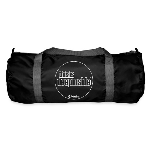 This is DEEPINSIDE Circle logo white - Duffel Bag