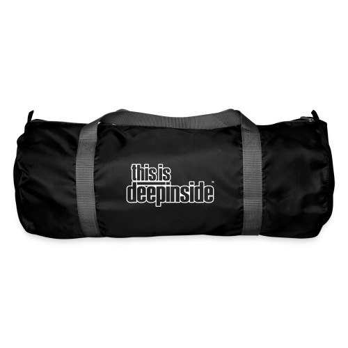 This is DEEPINSIDE logo white - Duffel Bag