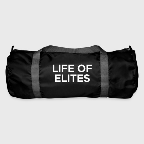 LOGO 2 WHITE png - Duffel Bag