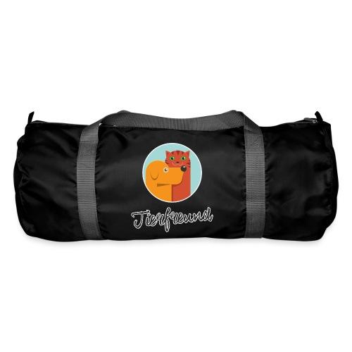 Tierfreund mit Schriftzug - Sporttasche