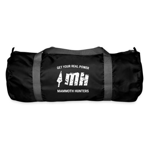 Mammoth Hunters / Blanco - Bolsa de deporte