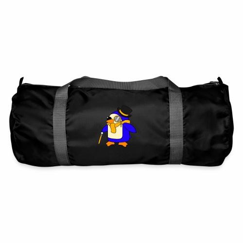 Cute Posh Sunny Yellow Penguin - Duffel Bag