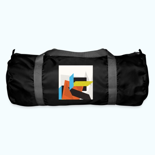 Vintage shapes abstract - Duffel Bag