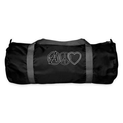 ANARCHY PEACE & LOVE - Duffel Bag