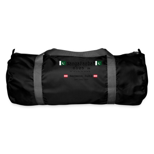 NangaPArbat20-01Black - Borsa sportiva