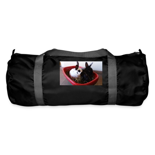 Warme Sachen mit dem Hasenlogo - Sporttasche