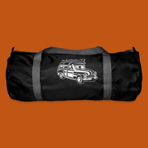 Chevy Cadilac Woodie / Oldtimer Kombi 01_weiß - Sporttasche