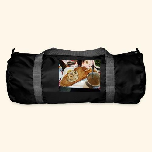 Schnitzel Motiv - Sporttasche