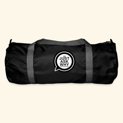 WE JUST ASK WHY - The Vegan Mind - Duffel Bag
