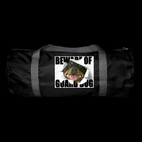 beware of guard dog - Duffel Bag