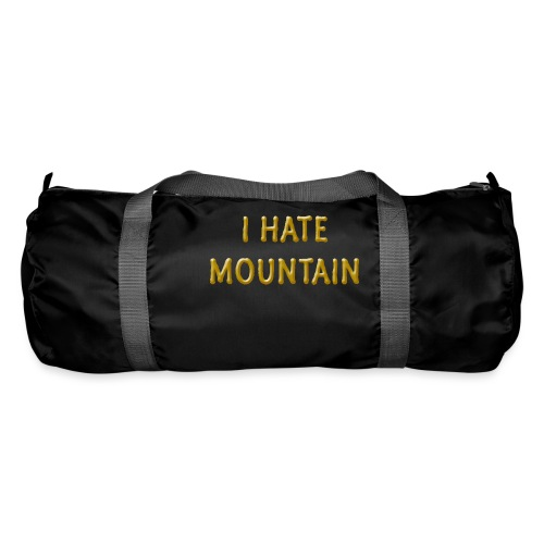 hate mountain - Sporttasche