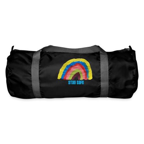 Stay Safe Rainbow Tshirt - Duffel Bag