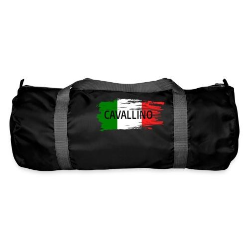 Cavallino auf Flagge - Sporttasche