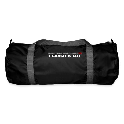 I CRASH A LOT - Duffel Bag