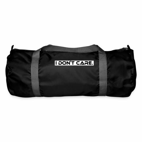 I DON T CARE Design, Ist mit egal, schlicht, cool - Sporttasche