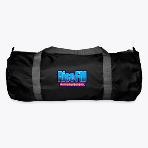 Rise FM Denmark Text Only Logo - Duffel Bag