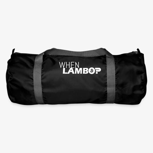 HODL-when lambo-w - Duffel Bag