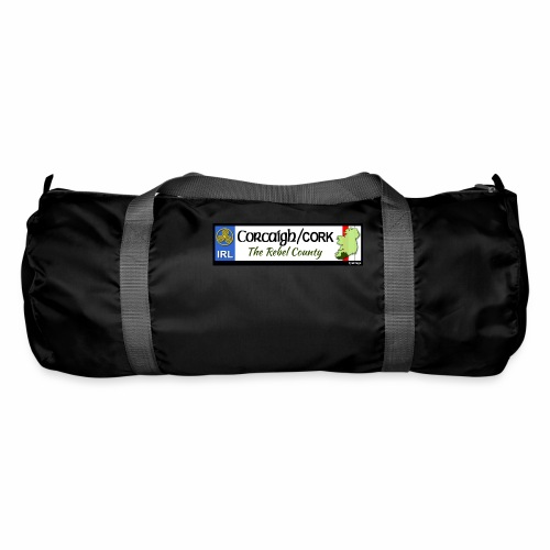 CO. CORK, IRELAND: licence plate tag style decal - Duffel Bag