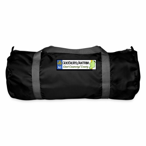 CO. ANTRIM, NORTHERN IRELAND licence plate tags - Duffel Bag