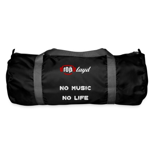 dropblayd Merch - No Music No Life - Sporttasche