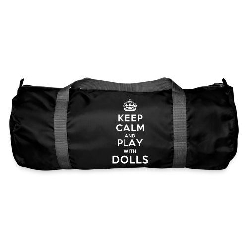 KeepCalmAndDollsVer2 - Sporttasche