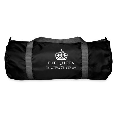 THE QUEEN IS ALWAYS RIGHT - Sporttasche