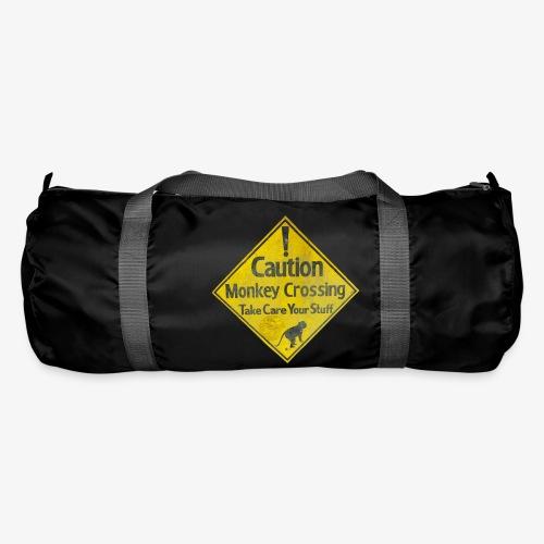Caution Monkey Crossing - Sporttasche