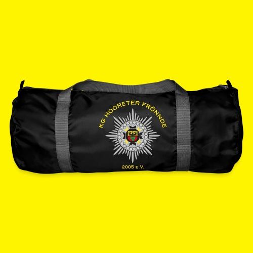 Gelbe Schrift - Sporttasche