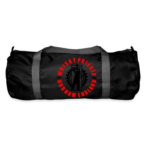IRON MAN LOGO RED BLACK TRANS - Duffel Bag