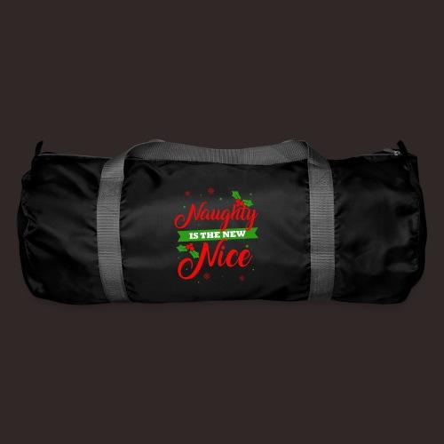 Weihnachten | unartig artig nett - Sporttasche