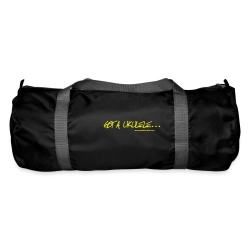 Official Got A Ukulele website t shirt design - Duffel Bag