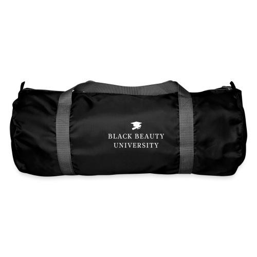 BLACK BEAUTY UNIVERSITY LOGO BLANC - Sac de sport