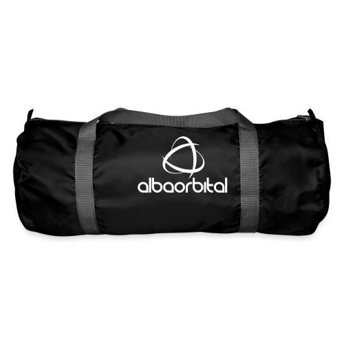 Alba Orbital Logo - White - Duffel Bag