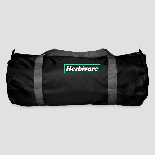 Herbivore Logo White - Borsa sportiva