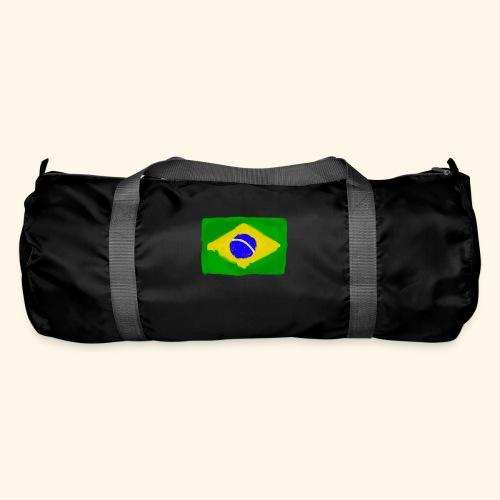 Brazilian flag InWatercolours - Sportväska