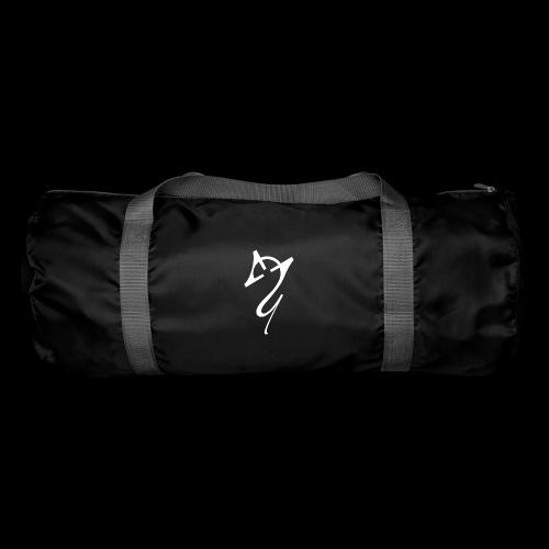 Overscoped logo White - Duffel Bag