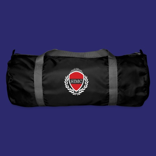 simc logo inverted png - Duffel Bag