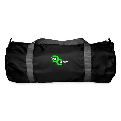 Dino Logo weiß freigestel - Sporttasche