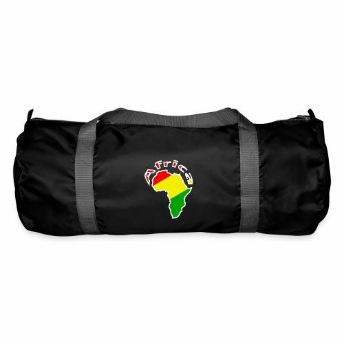 Afrika - rot gold grün - Sporttasche