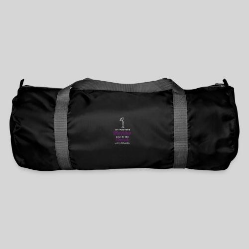 ich habe keine Stirnfalten das ist ein Sixpack - Sporttasche