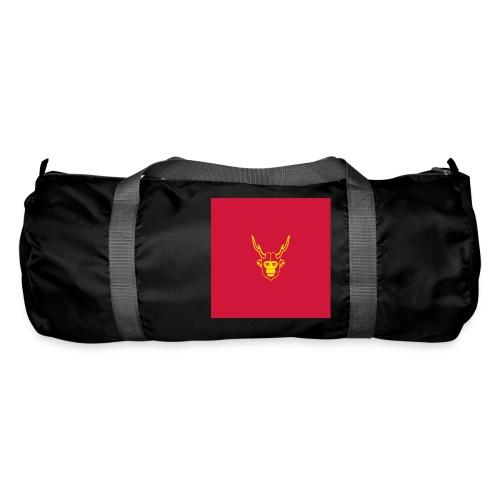 scimmiacervo sfondo rosso - Borsa sportiva