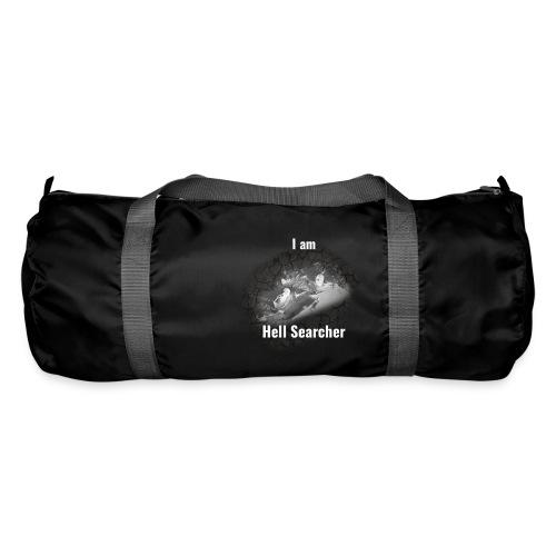 I am Hell Searcher Black Hoodie Men - Duffel Bag