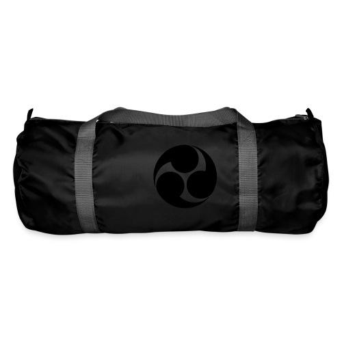 Kobayakawa Mon Japanese clan black - Duffel Bag