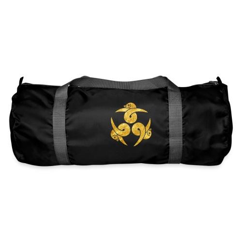 Three Geese Japanese Kamon in gold - Duffel Bag