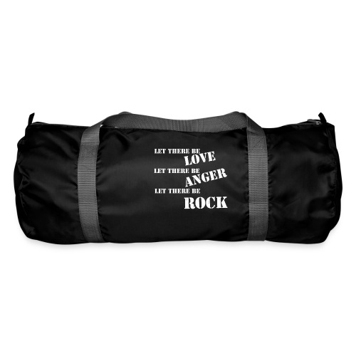 Love Anger Rock - Duffel Bag